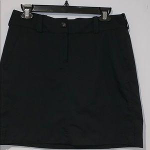 Nike Golf tour performance Dri-Fit skirt black